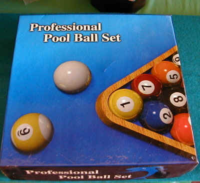 how to set pool balls uk