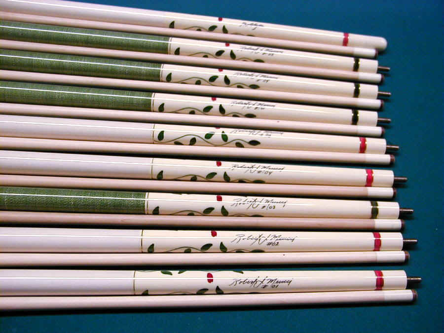 White Rose by Meucci-Discount Pool Cues