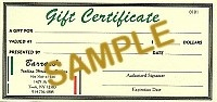 Discount Pool Cues GIFT CERTIFICATE - Product Image
